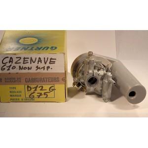 carburateur D12G Cazenave 610 non susp