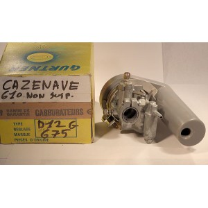 carburateur D12G Cazenave 610 non susp